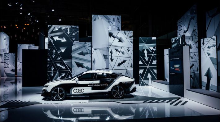Audi Summit 2017, Brandspace - 4